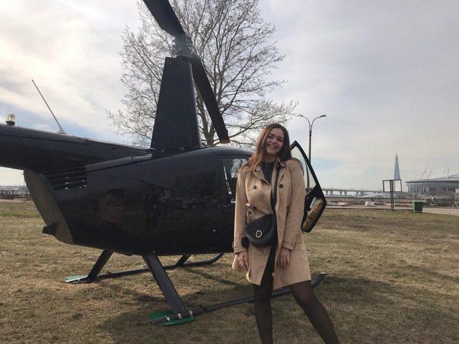 полетать на вертолете спб