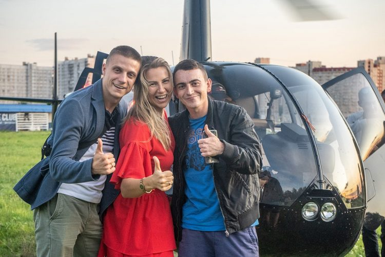 полеты на вертолете над петербургом